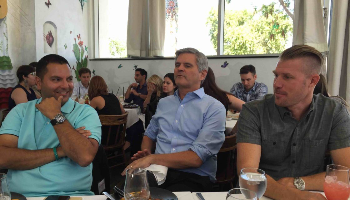 Steve Case AOL lunch